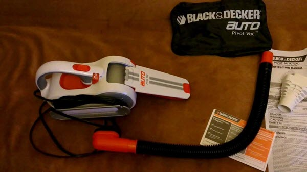 Black & Decker PAV1200W Handheld Vaccum Cleaner
