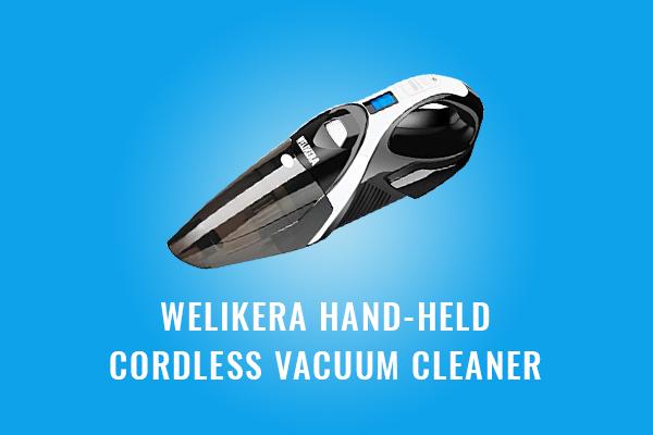 Welikera Hand held Cordless Vacuum Cleaner