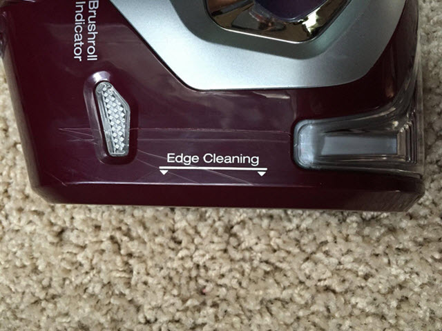 Shark NV752 Edge Cleaning