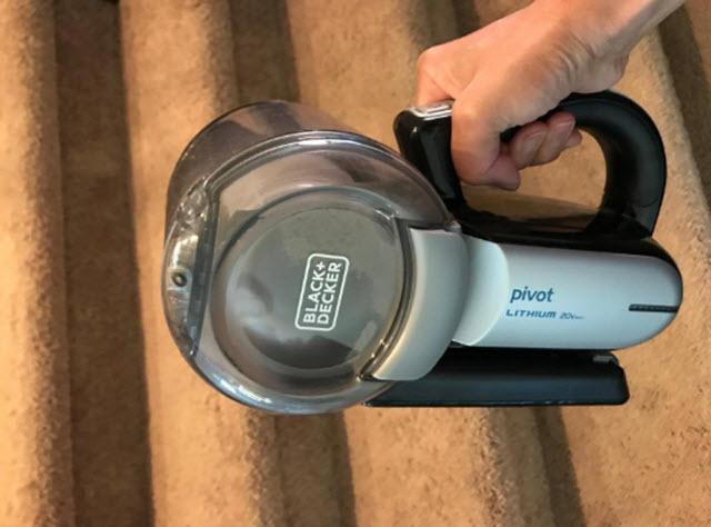 Black & Decker BDH2000PL cordless pivot vacuum cleaner