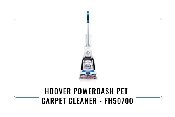 Hoover FH50700 PowerDash Pet Carpet Cleaner Review