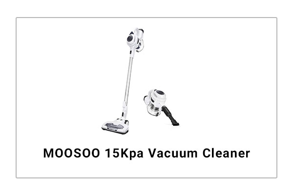 MOOSO 15Kpa Vacuum Cleaner Review