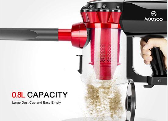 MOOSOO D600 vacuum cleaner review