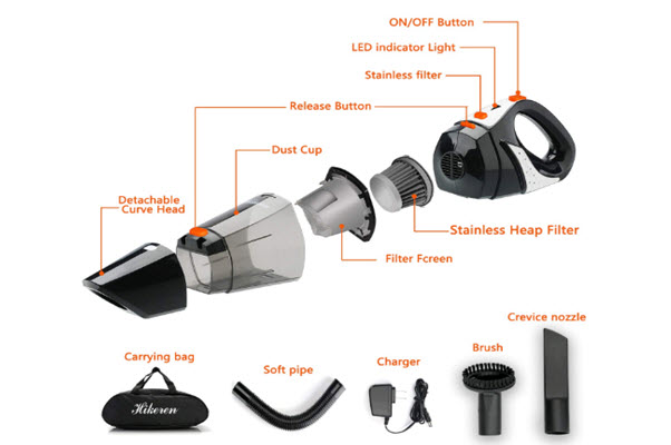 Hikeren Car Vacuum
