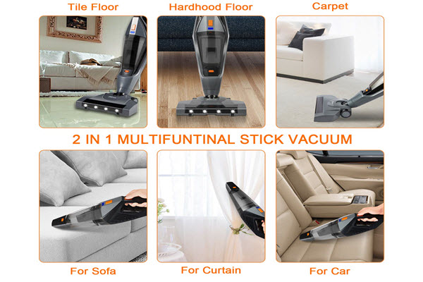 Hikeren Vacuum Cleaner