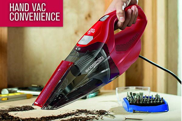 Dirt Devil SD20005RED Scorpion Corded Vacuum