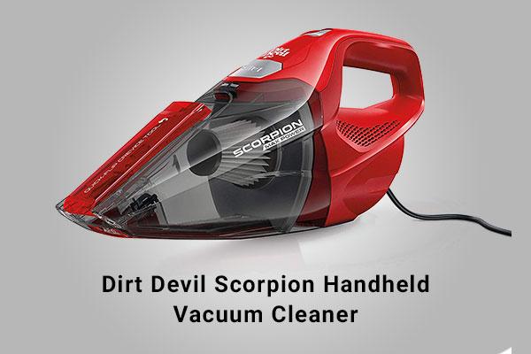 Dirt Devil SD20005RED vacuum cleaner