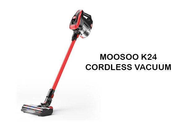 Moosoo K24 Cordless Vacuum Review