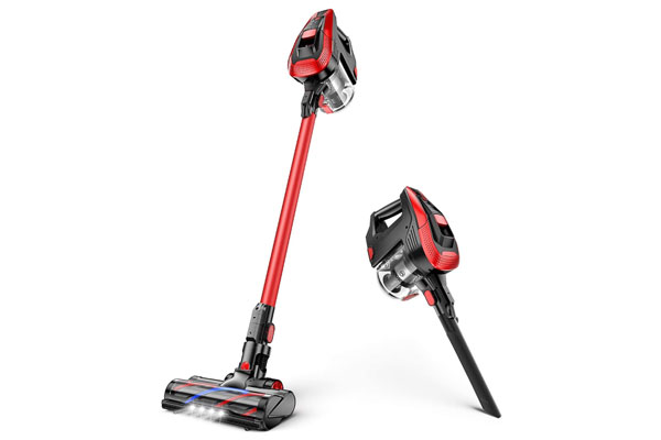 Moosoo K24 Cordless Stick Vacuum