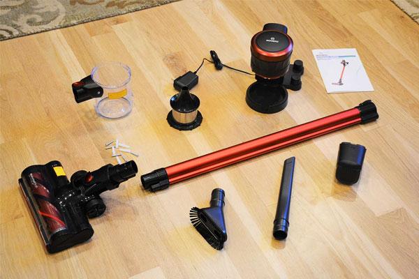 Moosoo K24 Cordless Vacuum Accessories