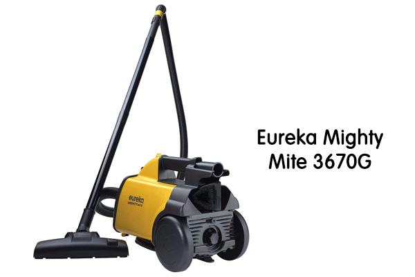 Eureka Mighty Mite 3670G Canister Vacuum